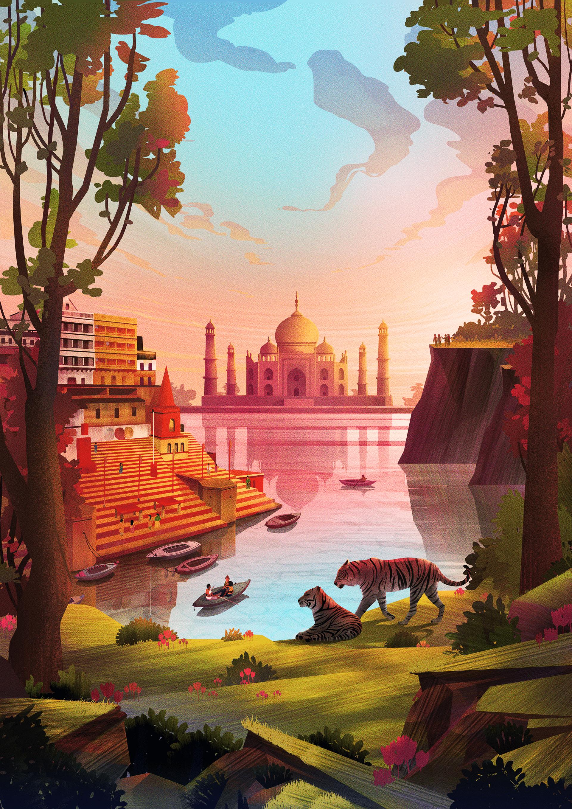 Illustration,Digital Art
