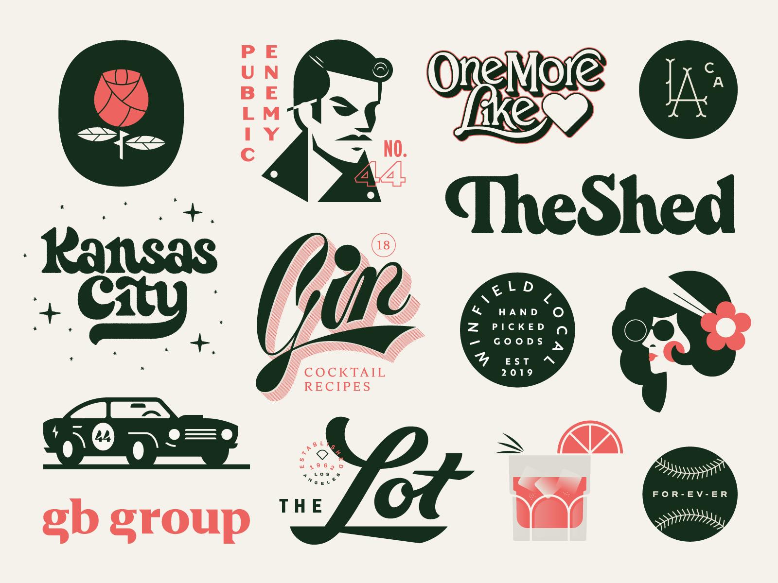 illustrations , logo