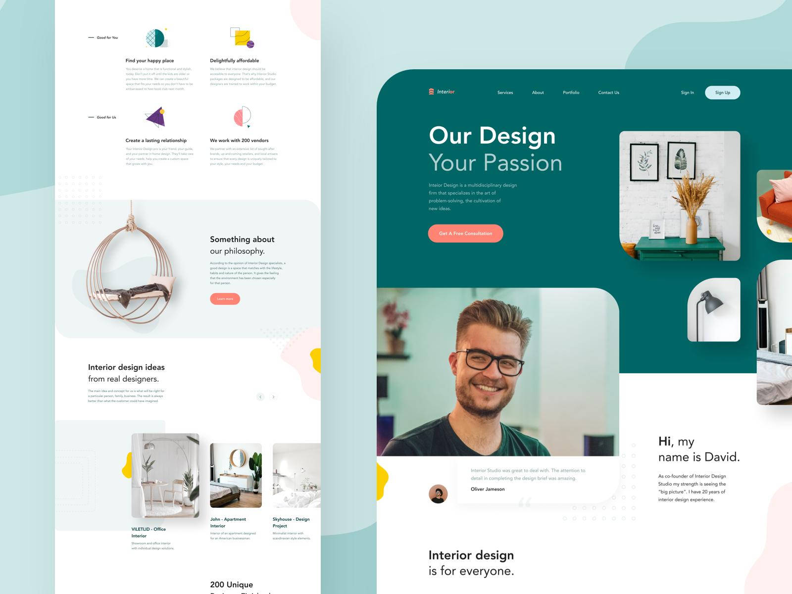 UI UX Design Inspiration
