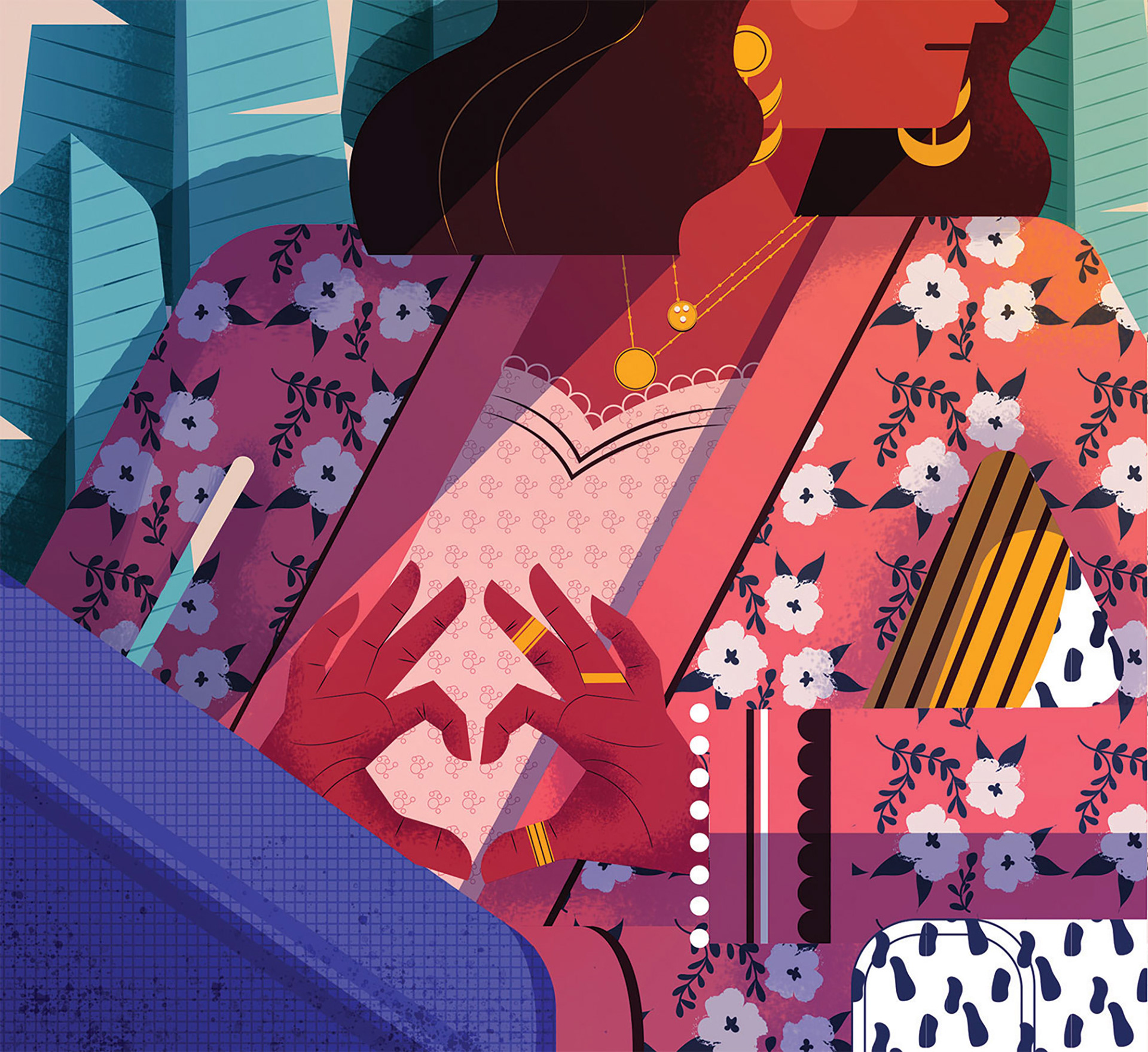 Illustration,Editorial Design