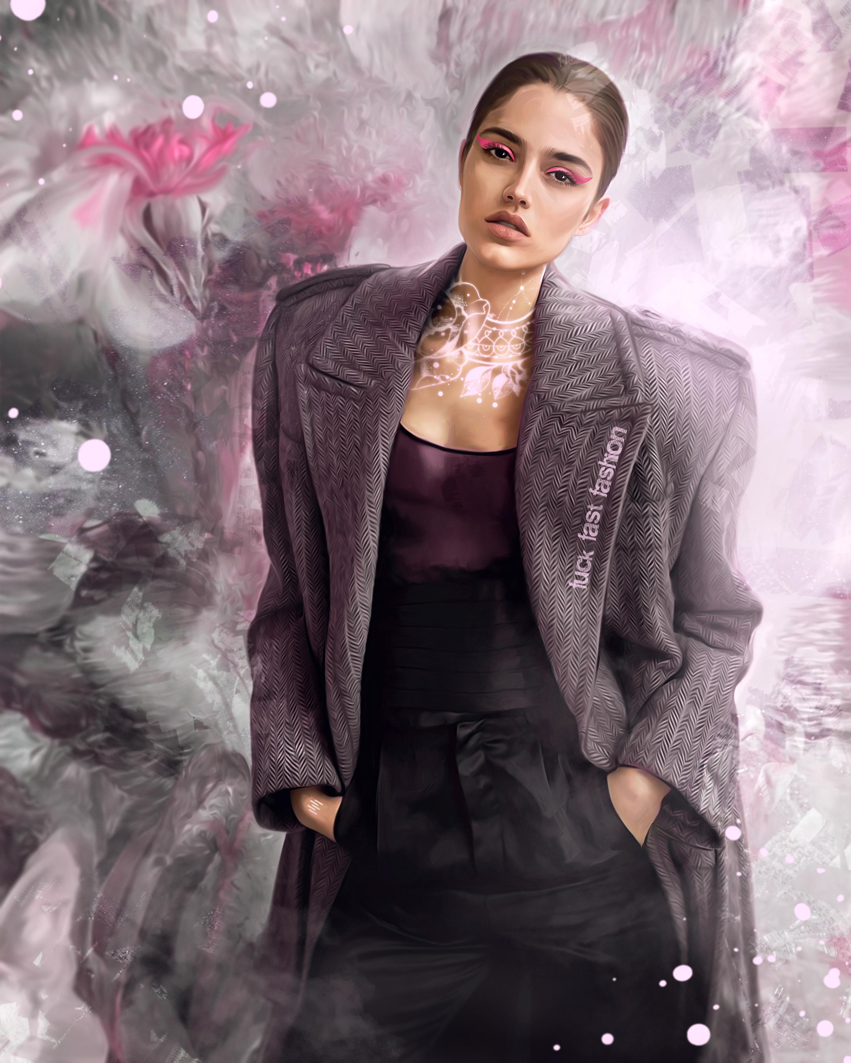 ,painting, drawing,Illustration,Fashion,Digital Art