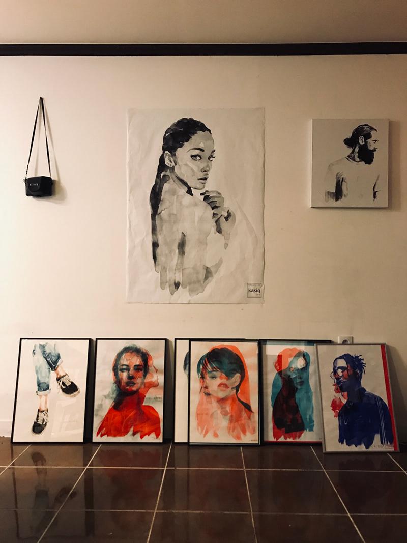 Fashion,Illustration , painting
