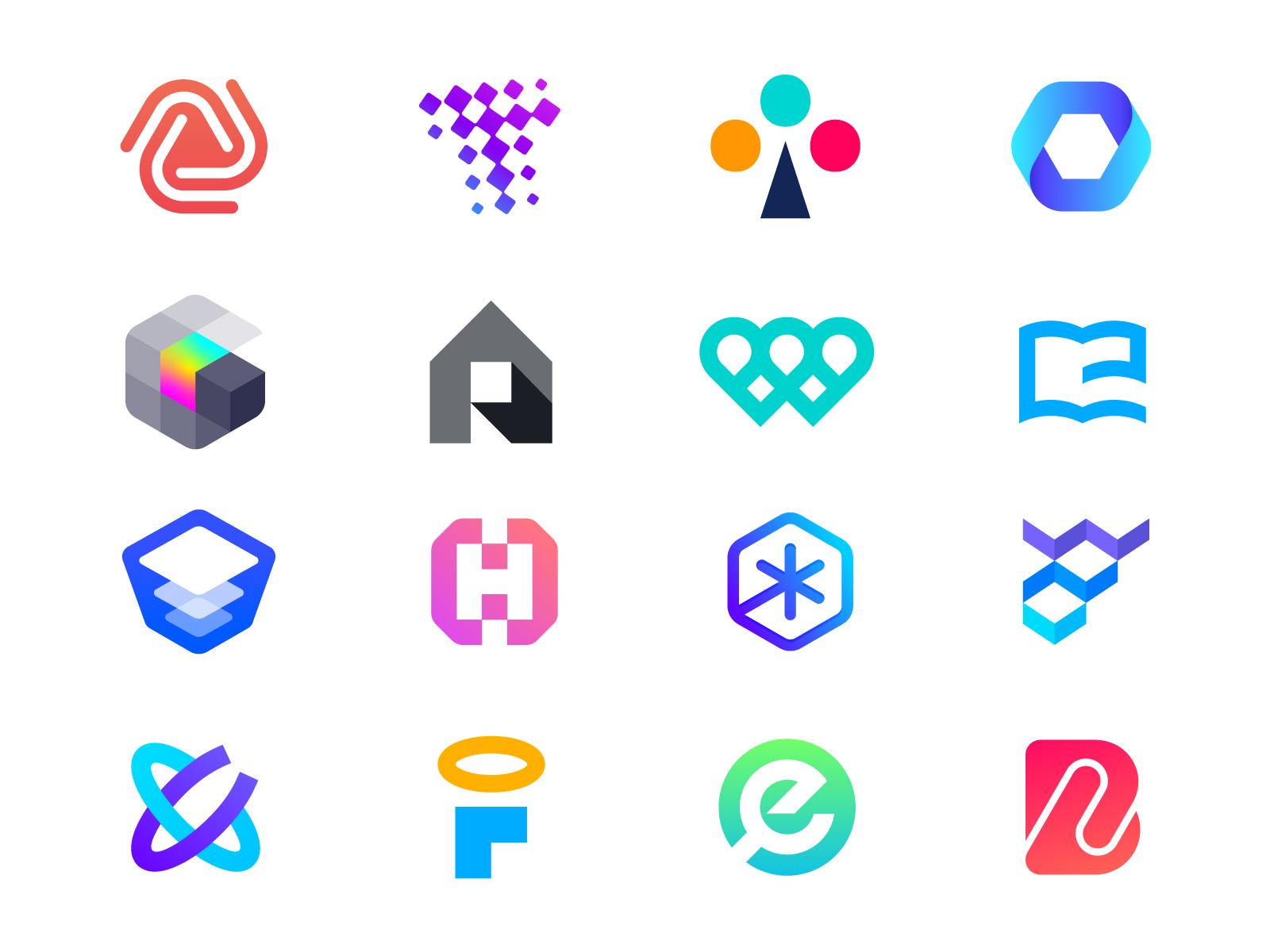 logo inspiration , graphic design