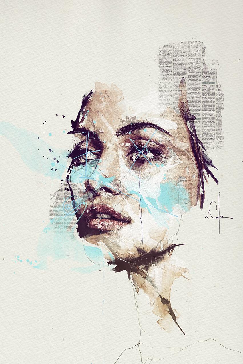 Illustration,Painting,Digital Art