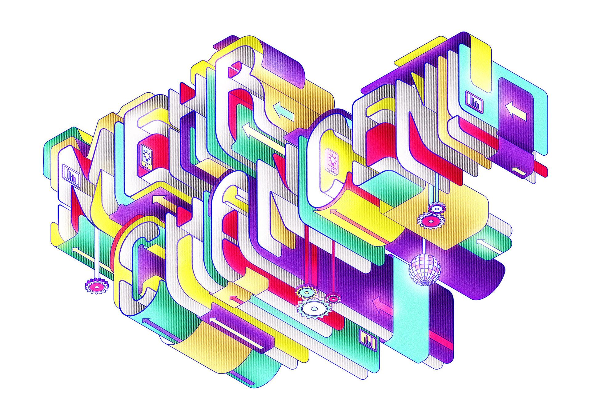 Illustration,Typography