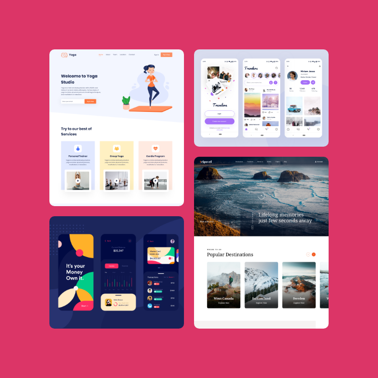 UI Interface Design inspiration