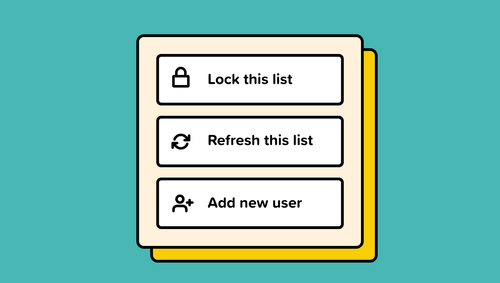 Labels UI Design