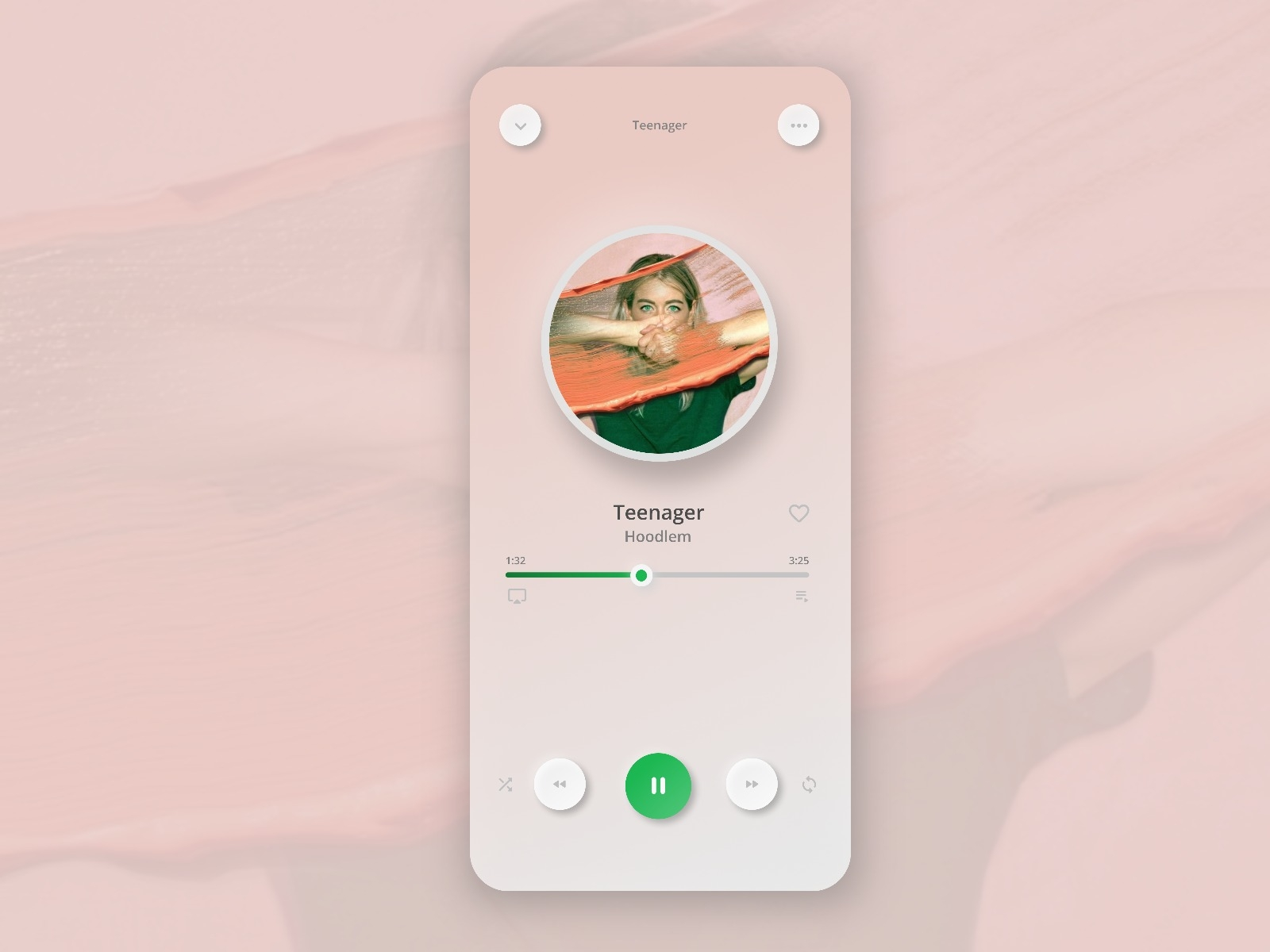 Spotify Redesigned | Neumorphism