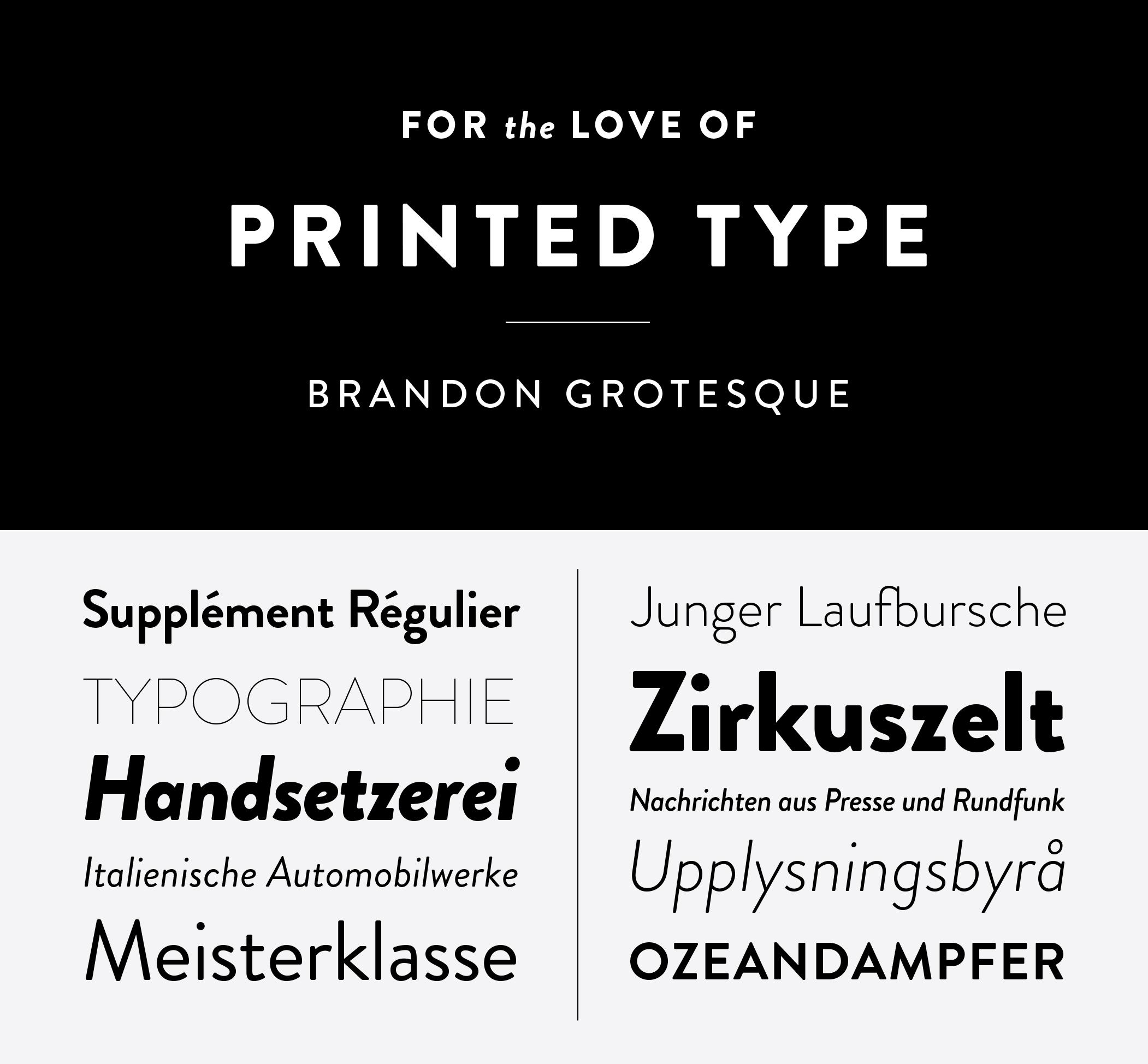 logo design font