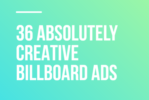36 Absolutely Creative Billboard Ads