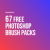 67 Free Photoshop Brush Packs