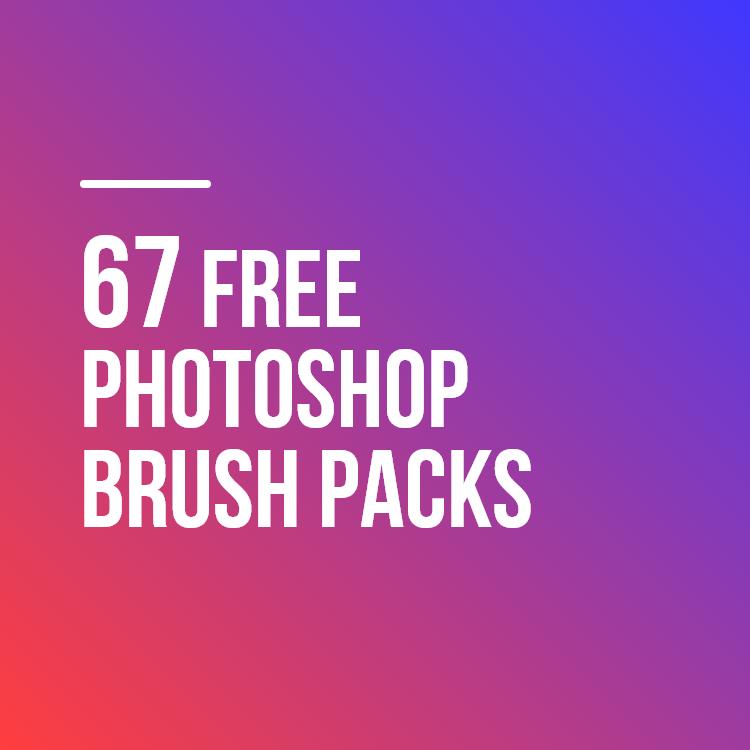 67 Free Photoshop Brush Packs