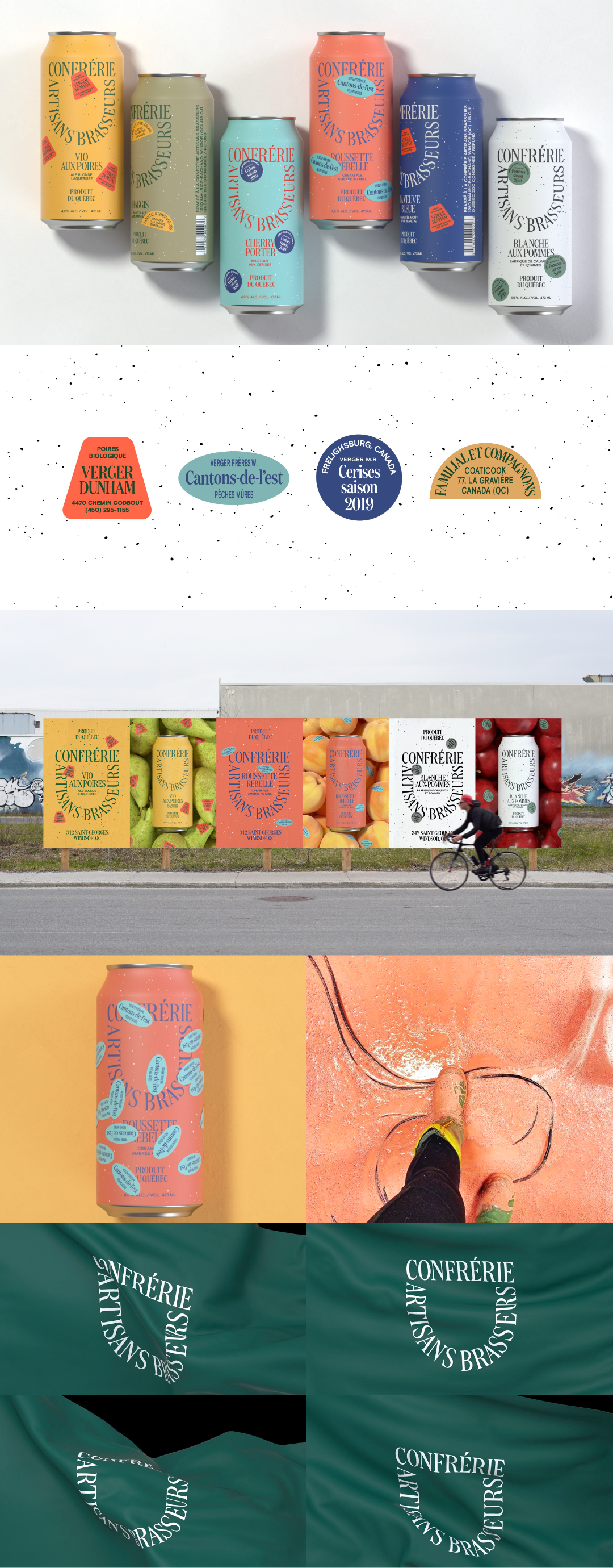 Art Direction,Branding,Packaging BEER CAN. BEER PACKAGING. BRANDING. BREWERS. FRUIT BEER. FRUITS. LOCAL FOOD. MICROBREWERY. PACKAGING. FOOD © All Rights Reserved Mark as Spam Report