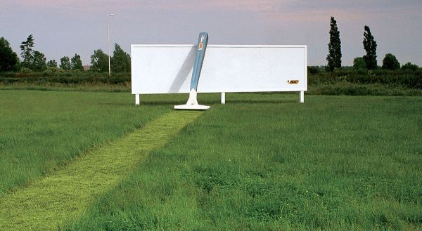 BiC Billboard Ad