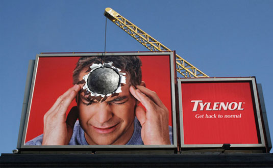 Tylenol Billboard Ads