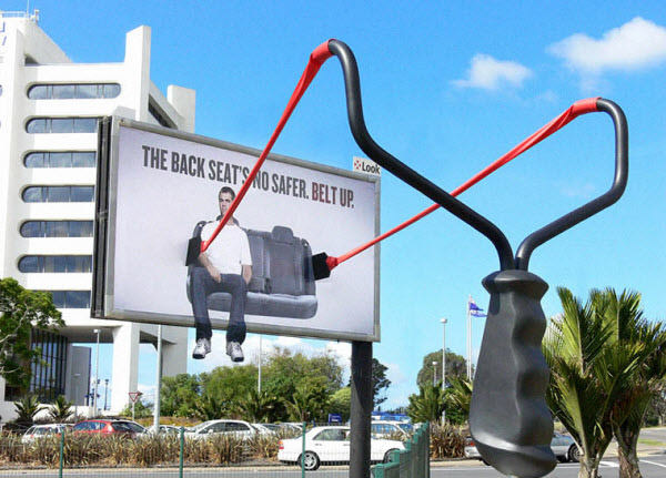 Seat Belt Billboard Ad