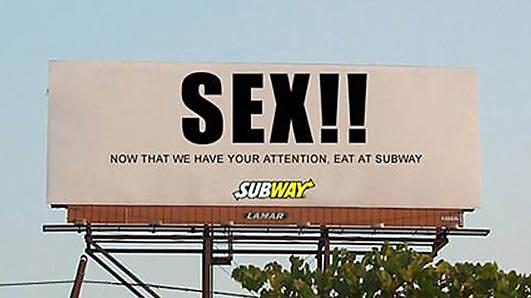 Subway Billboard