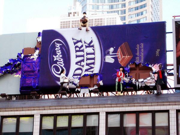 Cadbury Billboard Ads