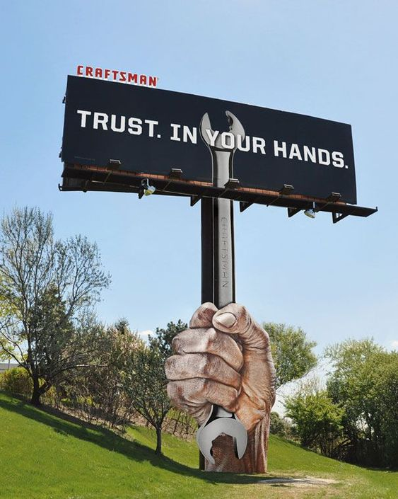Craftsman Billboard