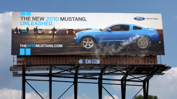 Ford Mustang: Burnout