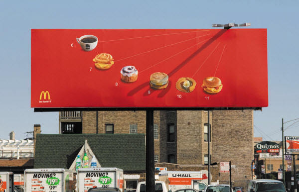 McDonald: Sundial Billboard