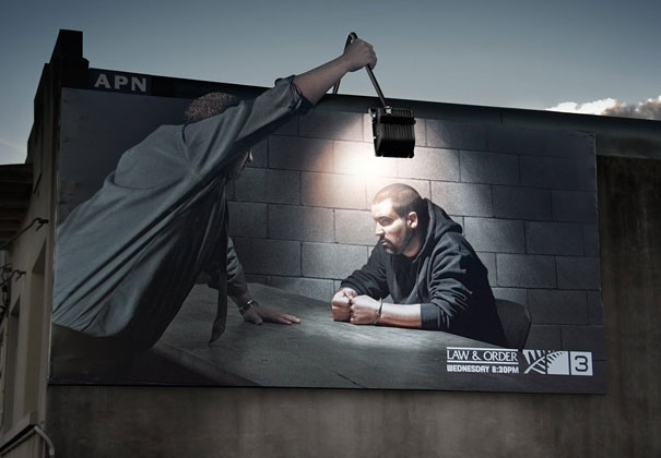 Law & Order billboard