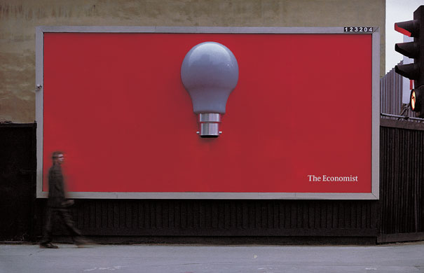 The Economist Billboard Ads