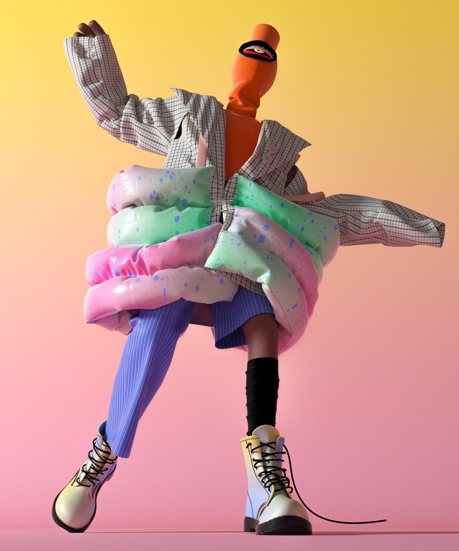 Graphic Design,Illustration,Fashion