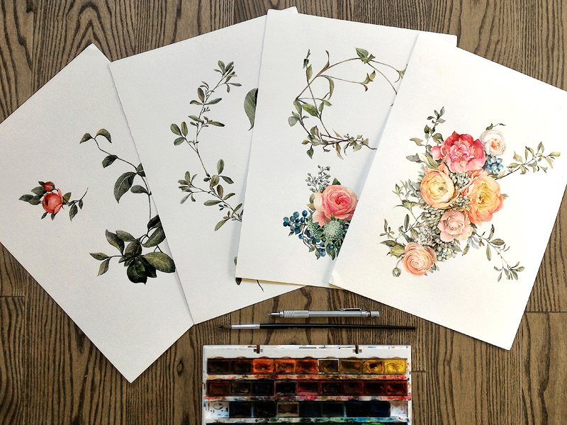 Drawing,Pattern Design,Textile Design