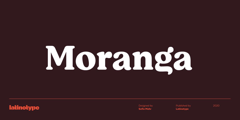 Moranga font