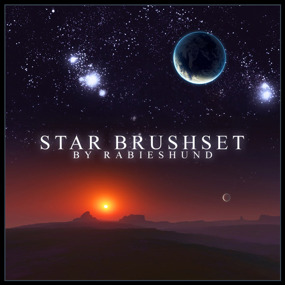 Rabies Star Brush set