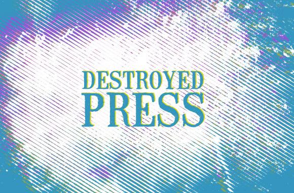 Destroyed Press Photoshop Brushes (10)