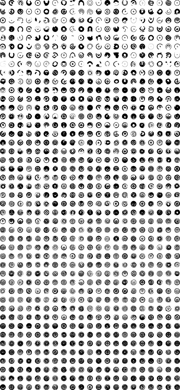 1000+ Solid Tech Rings Photoshop Brushes